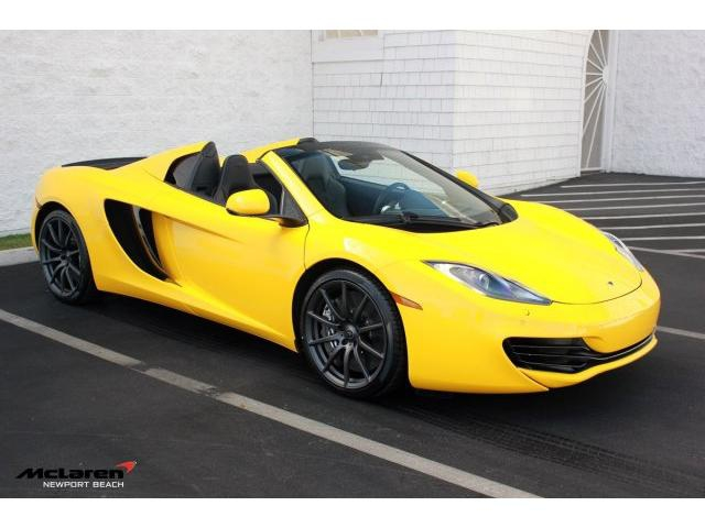 2014 McLaren MP4-12C Spider | Newport Beach