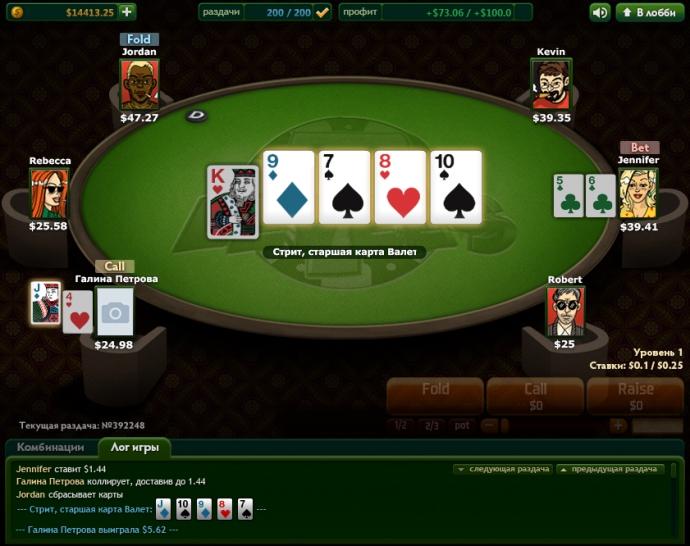 Покер Обучения Игре