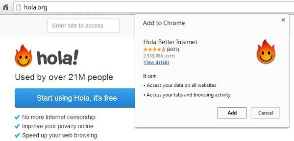 Программа hola скачать и установить бесплатно