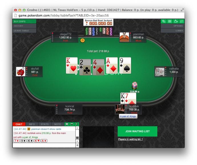 официальный сайт pokerdom com ru