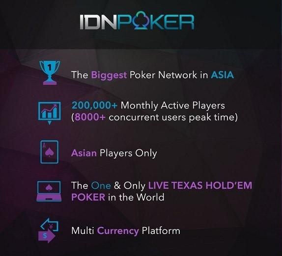 Описание преимуществ сети на сайте IDNpoker