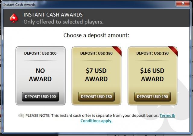 Как сделать депозит в покере