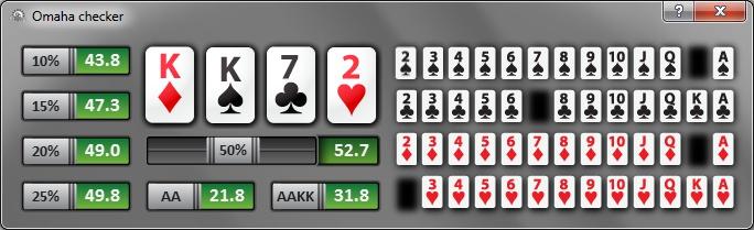 калькулятор шансов в покере онлайн