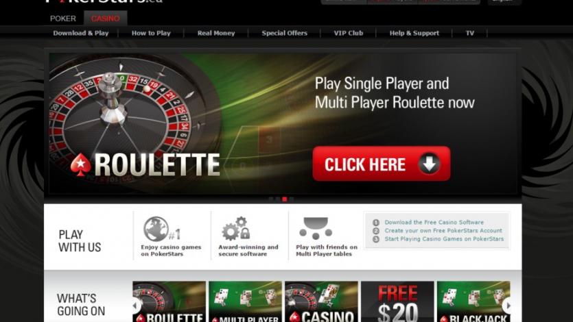 рулетка pokerstars онлайн