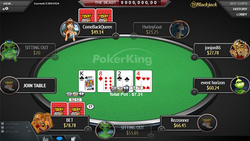 онлайн покер как работа