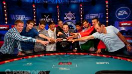WSOP Main Event: Один венгр и восемь американцев на финальном столе