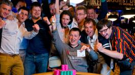 Владимир Щемелев выиграл первый золотой браслет WSOP 2013 для России