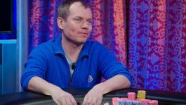 Василий Фирсов - чип-лидер первого игрового дня Главного События WPT в Праге