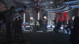"""Съемочная площадка ТВ-шоу """"Full Tilt Poker Pro Battle"""""""