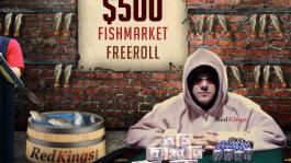$500 FishMarket Freeroll на RedKings сегодня