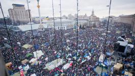 Украинский оффлайн в революционных тонах
