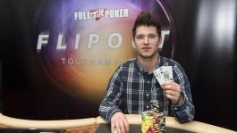 Феликс Шульц стал первым победителем живого турнира Flipout от Full Tilt Poker