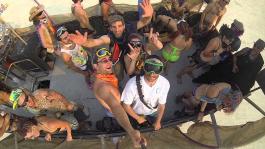 Антонио Эсфандиари отправился на этнофестиваль Burning Man