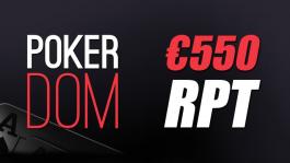 Розыгрыш билета на RPT (€550) для игроков Покерофф на PokerDom