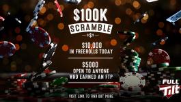$100 000 в 10-дневной серии фрироллов на Full Tilt