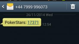 Как быстро обезопасить свою учётку на PokerStars с помощью SMS
