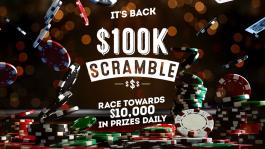 """Серия фрироллов """"$100K Scramble"""" от Full Tilt"""