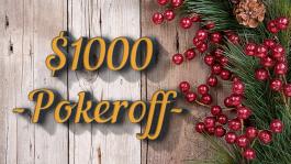 Новогодние 1000$ для игроков Pokeroff на Pokerstars