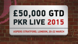 Выиграй путёвку на PKR Live London в акции от PKR!