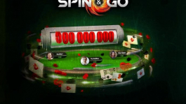 Выиграй $1,000,000 в турнирах Spin&Go на PokerStars
