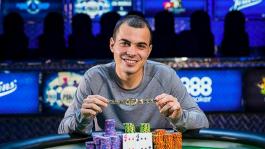 WSOP: 25-летний парень из Хьюстона выиграл $638,880 в самом крупном турнире Мировой Серии Покера!