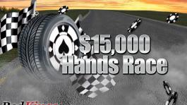 $15,000 Hands Race на RedKings