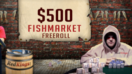 $500 RK Fishmarket Freeroll (RedKings)