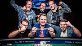 Немец и грек выиграли по турниру WSOPE 2015