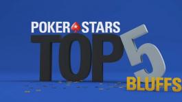 Новая подборка блефов от PokerStars