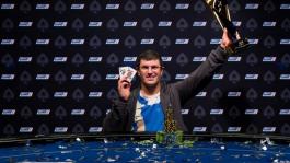 Леон Цукерник — чемпион турнира €50,000 Super High Roller на EPT Прага