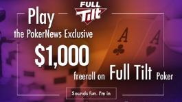 Freeroll для новых игроков на Full Tilt с гарантией $1.000 для победителя