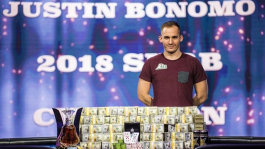 Джастин Бономо выиграл два турнира Super High Roller Bowl подряд ($5,000,000 за каждый)