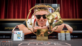 Анатолий Филатов — чемпион partypoker MILLIONS Sochi (₽60,000,000)