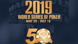 Юбилейный WSOP 2019: big blind ante и увеличенные стартовые стеки