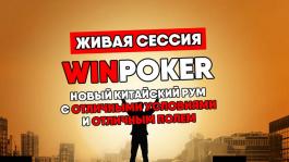 Стрим-обзор китайского рума WIN poker