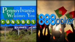 Unibet получили лицензию в США, а 888poker — в Португалии