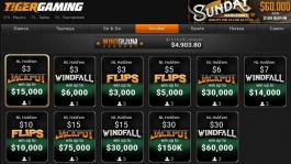 Новые Jackpot Sit&Go на Tigergaming: множители, вероятности, рейк
