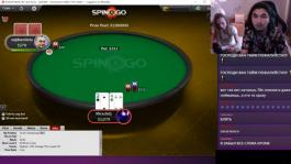 Стример «MiracleQ» поучаствовал в розыгрыше $1'200'000 в Spin&Go на PokerStars