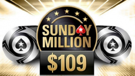 Sunday Million в формате Progressive Knockout 18 и 25 августа