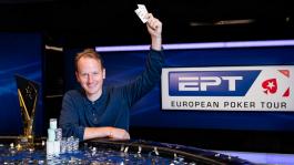 Симон Брэндсторм из Швеции стал победителем Главного События EPT в Барселоне (€1,290,166)