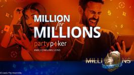 Миллион в билетах на сателлиты от partypoker
