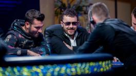 Энтони Зинно — чиплидер финального стола WSOP Europe Main Event
