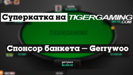 Игрок «gerrywoo» спонсирует NL1K на Tigergaming со статами 85/32/17