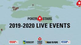 PokerStars опубликовали расписание LIVE событий на 2020 год: меньше EPT, больше PSPC