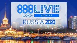 888poker WEEKEND Sochi 2020 — поборись за часть от пяти миллионов рублей