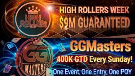 GGПокерОК: хайроллерская серия, увеличенная гарантия GGMasters и акция «Дуэль со стримерами»