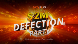 Partypoker: раздача $2'000'000 в мае и призы за открытие клиента
