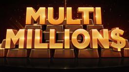 Multi MILLION$ — воскресные турниры на GGПОКЕРОК с миллионной гарантией