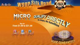 WSOP Silk Road: микролимитные сателлиты на GGПОКЕРОК (старт 1 июля)
