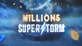 888poker дополнил акции для серии Millions SuperStorm